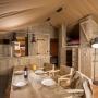 Glamping zelt lodge vermietung safari woodlodge xl luxus frankreich midi pyrenees okzitanien ariege kochen