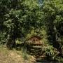 Glamping zelt lodge vermietung safari woodlodge xl luxus frankreich midi pyrenees okzitanien ariege volle natur
